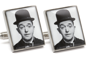 Mousie Bean Photo Cufflinks Laurel & Hardy 1033-2