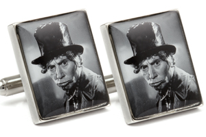 Mousie Bean Photo Cufflinks Marks Brothers 1050-2