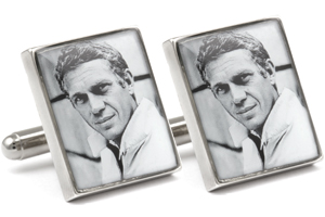 Mousie Bean Photo Cufflinks Steve McQueen 1080-2