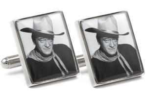 Mousie Bean Photo Cufflinks John Wayne 1090-1