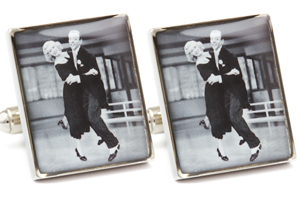 Mousie Bean Photo Cufflinks Fred & Ginger 1190-2
