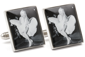 Mousie Bean Photo Cufflinks Marilyn Monroe 1250-1
