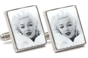 Mousie Bean Photo Cufflinks Marilyn Monroe 1250-2