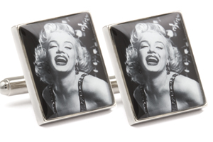 Mousie Bean Photo Cufflinks Marilyn Monroe 1250-3