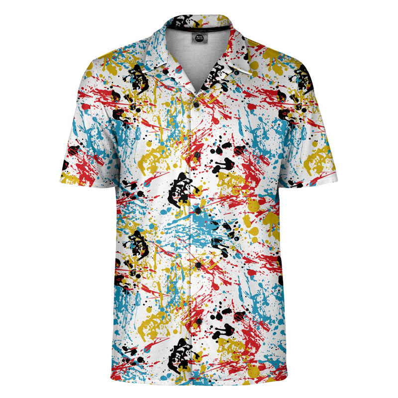 Mr. Gugu & Miss Go Pollock Short Sleeved Shirt SH-SHT1506