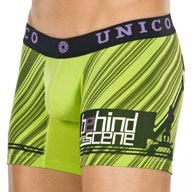 "Mundo Unico Light 10"" Boxer Brief Green 29101-I14"