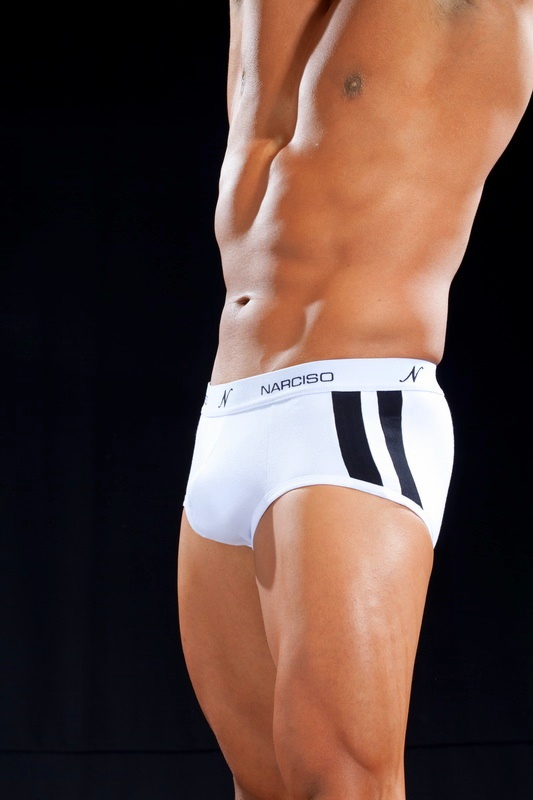 Narciso Mini Boxer Brief Underwear CELLA 059 WHITE