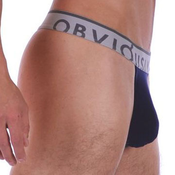 Obviously Chromatic Low Rise Thong Underwear Midnight Blue PLT-CH