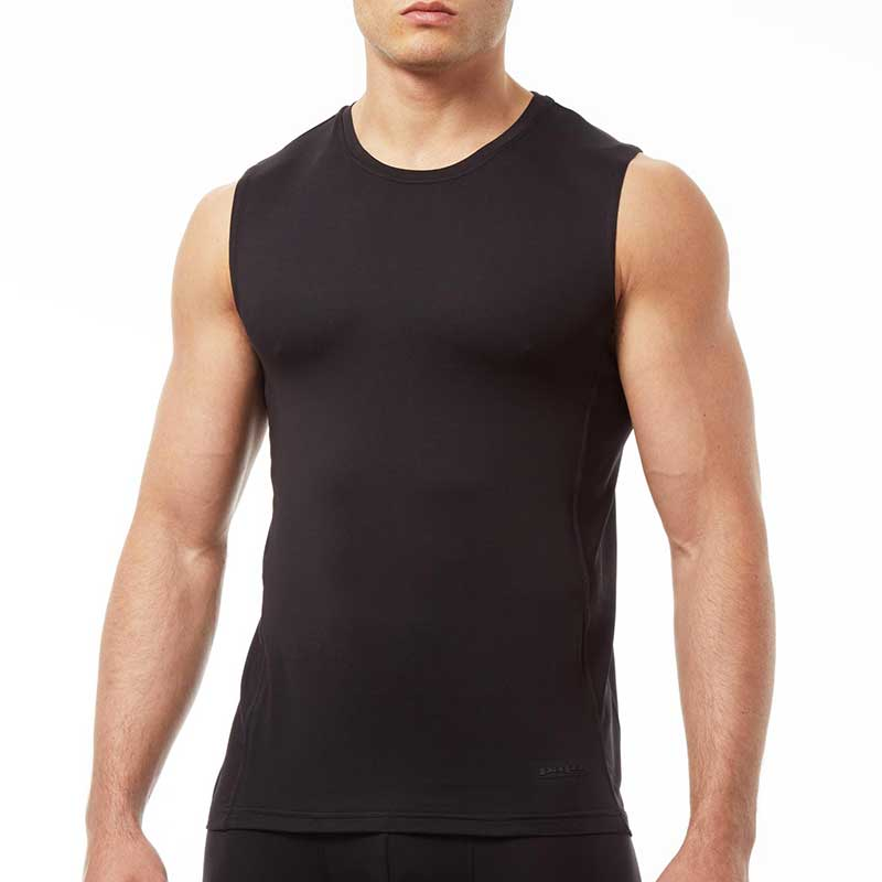 Clearance Papi Sport Muscle Top T Shirt Black 626805-001