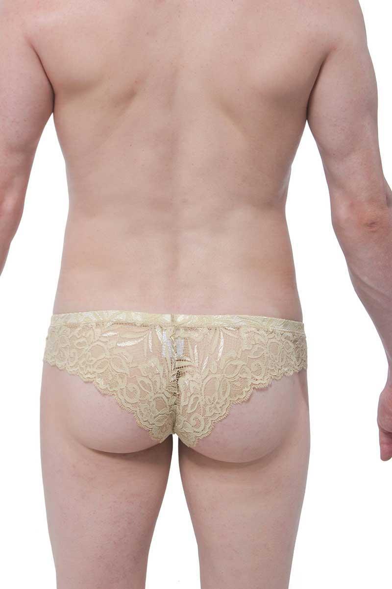 0d69d479314 Petit-Q Pigalle Lace Brazilian Bikini Underwear Nude PQ160606 ...