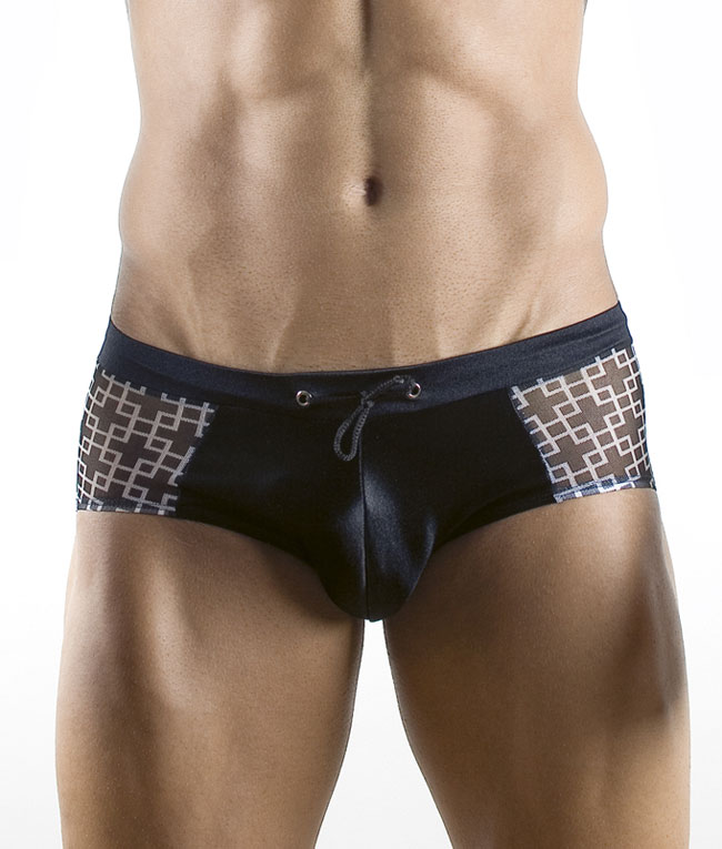 Pikante Labyrinth Brief Underwear Black 8622