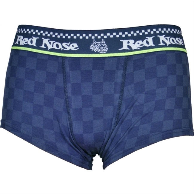 Red Nose Trunk Boxer Brief Underwear Blue 330-02