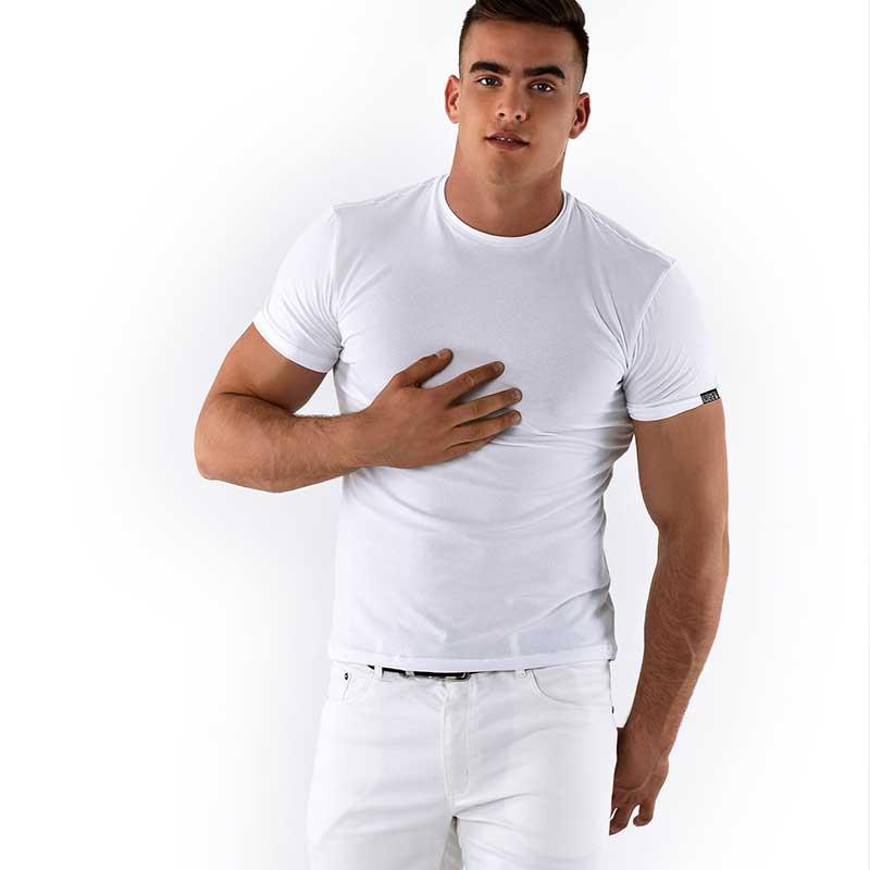 cb003f96 Roberto Lucca Slim Fit Short Sleeved T Shirt White 70218-20010 ...