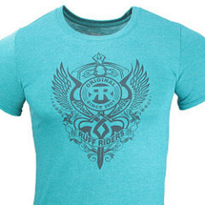 Ruff Riders Loyalty Short Sleeved T Shirt Teal