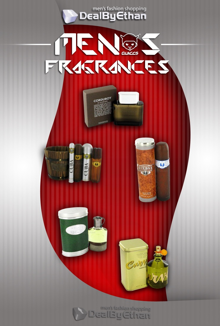Men's Fragrances at DealByEthan