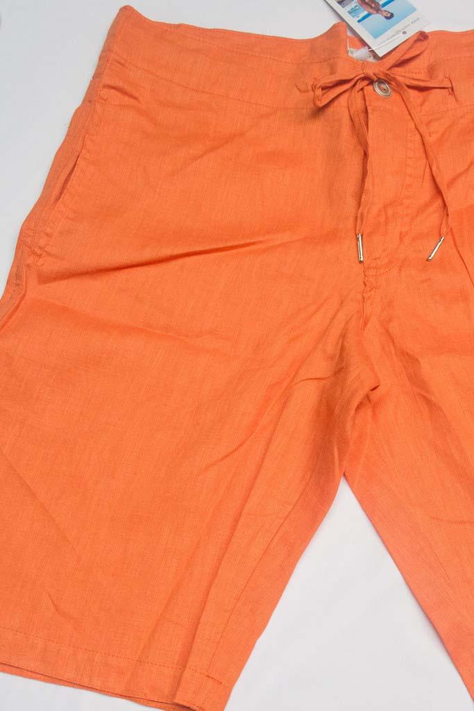1e375db37c Sauvage Linen Resort Boardshorts Beachwear Orange M025 [M025] : Buy ...