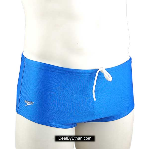 2fe802bcb427a Speedo Solid Dive Suit Square Cut Trunk Swimwear Royal Blue 70401 ...