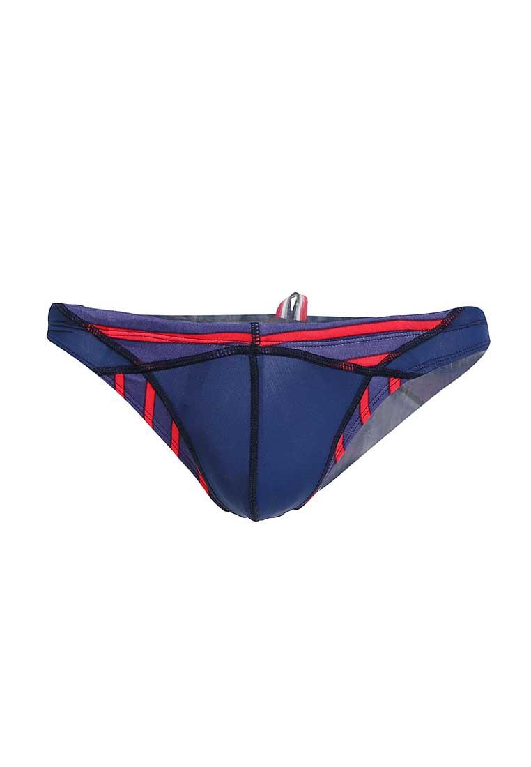 a7ae8462afa28 Spy Henry Lau Dual Fabric Pattern Low Waist Bikini Swimwear Blue  SP788AA34YTPHK