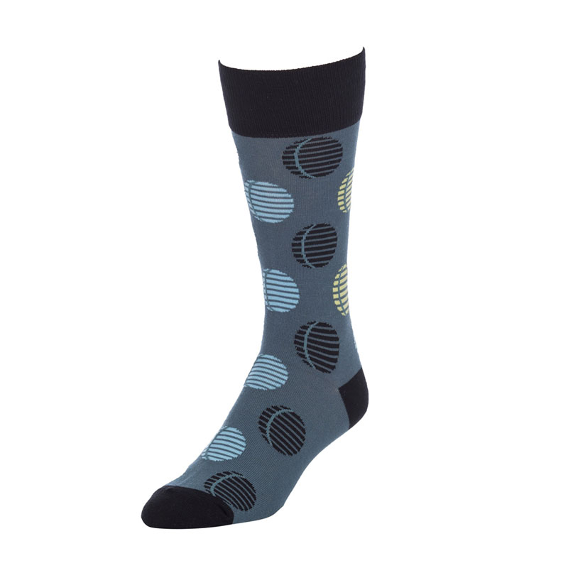 Strollegant CRESCENT Crew Socks Grey