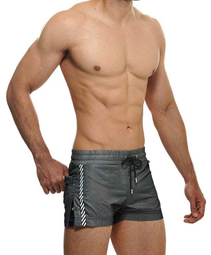 74233b81ba STUD Lima Shorts Swimwear Black RW808BS01 [RW808BS01] : Buy Men's ...