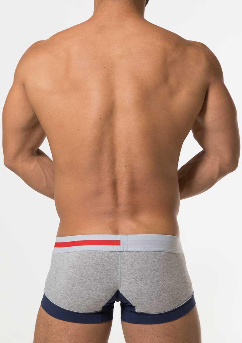3bd57a498595 Toot Wide Hem Trunk Underwear Grey CB05G274 [CB05G274] : Buy Men's ...
