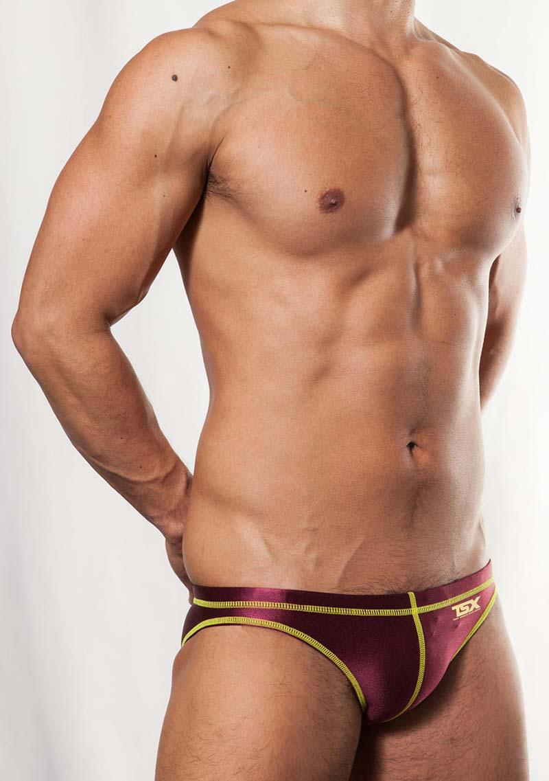 a381a41202325 Toot TSX Stitch Bikini Swimwear Dark Red SW48E361  SW48E361    Buy ...