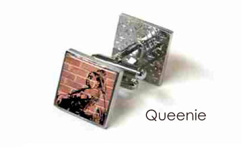 Tyler & Tyler Stencilart Red Bricks Cufflinks Queenie