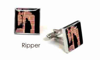 Tyler & Tyler Stencilart Red Bricks Cufflinks Ripper