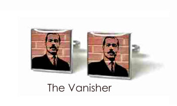 Tyler & Tyler Stencilart Red Bricks Cufflinks The Vanisher