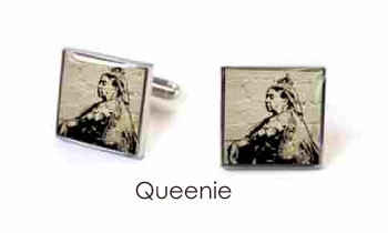 Tyler & Tyler Stencilart White Bricks Cufflinks Queenie