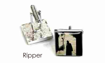 Tyler & Tyler Stencilart White Bricks Cufflinks Ripper
