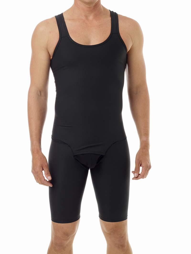 Underworks Shapewear No Zipper Compression Bodysuit Black 957101 ... e3e93ad56