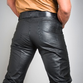 Whip It Leather 501 Style Pants PN7