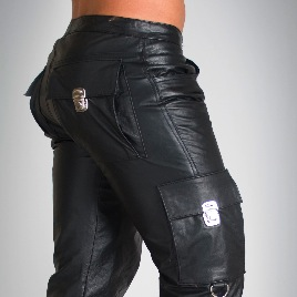Whip It Leather Combat Pants PN8