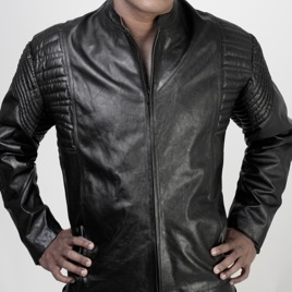 Whip It Leather Zipper Jacket JN4