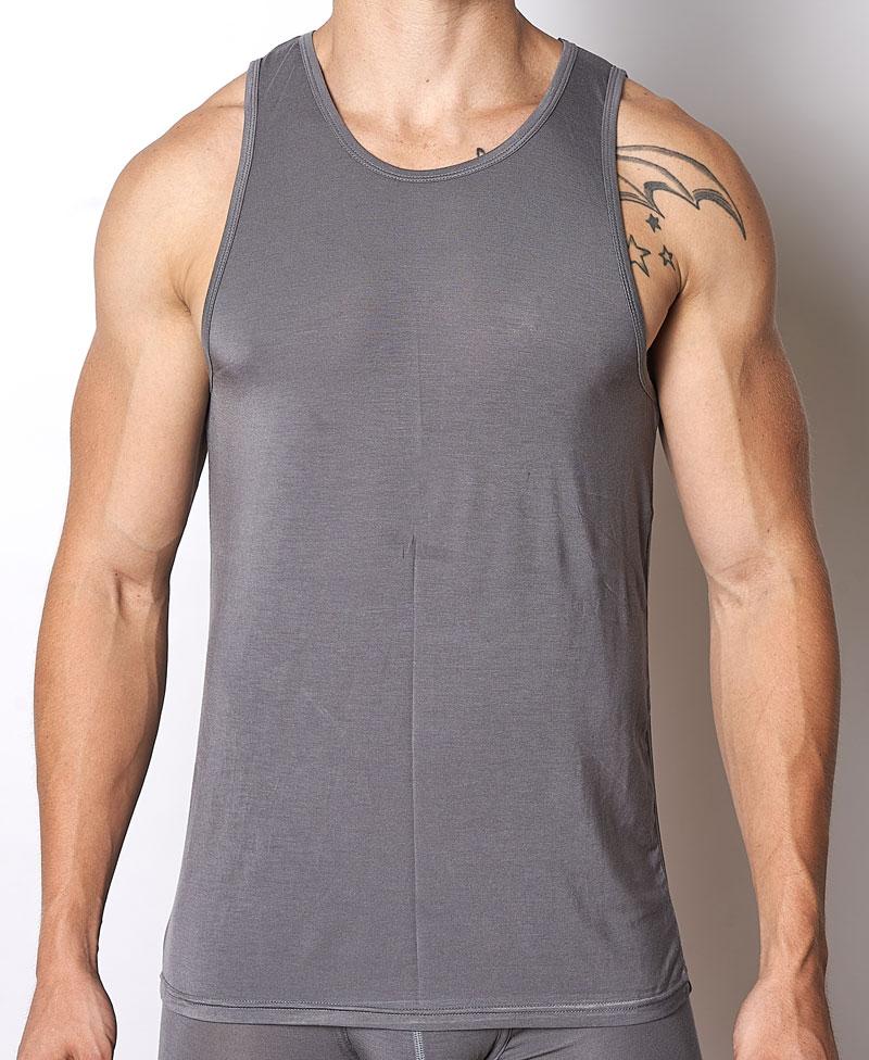 03acaf391e772 YOCISCO Essentials Tank Top T Shirt Slate   Buy Men s Fashion Online ...