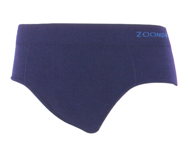 Zoomp Microfiber Seamless Brief Underwear Navy Blue 698-03